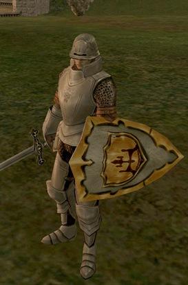 Soldado de Gludio en Lirein, Lineage II