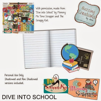 MMTS & TSK - Dive into School - Journal Cluster Preview