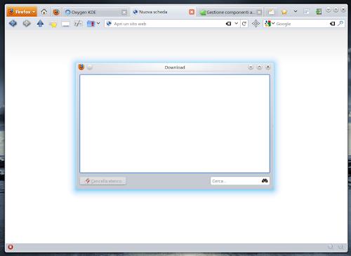 Oxygen KDE 4.0