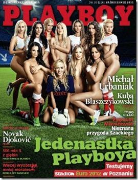 Playboy Polônia - Outubro 2011