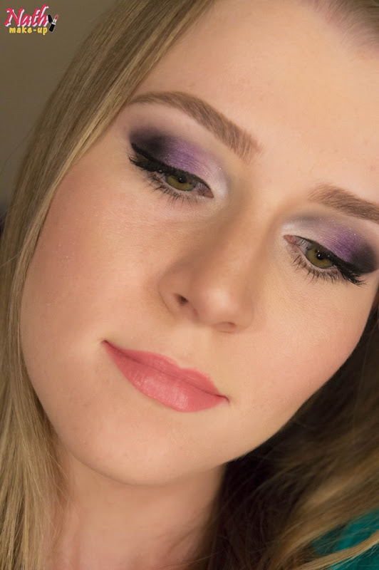 smokey eyes lilás roxo