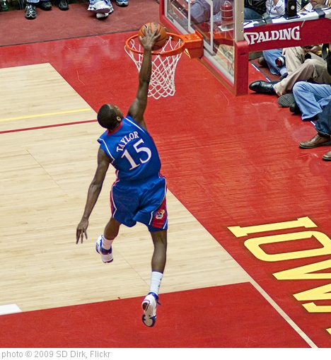 'Tyshawn Taylor dunk' photo (c) 2009, SD Dirk - license: http://creativecommons.org/licenses/by/2.0/