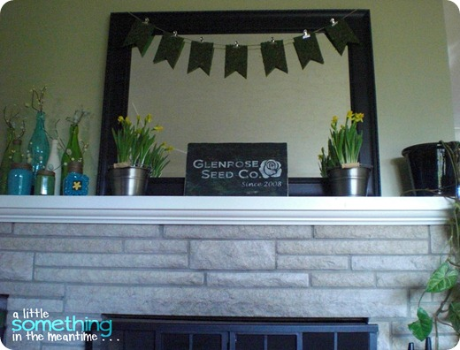 Spring Mantel Take 2 Front