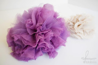 DIY Project: Tulle Puff Hair Accessory (and more)