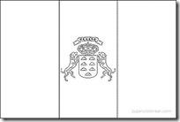 jugarycolorearcom - ,bandera-islas-canarias
