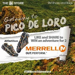 Merrell Getaway Adventure Promo