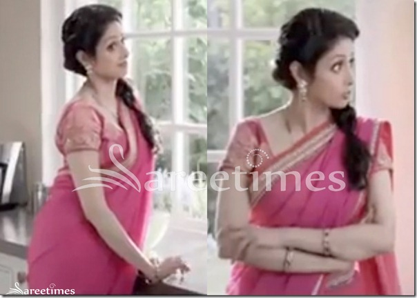 Sridevi_Pink_Saree