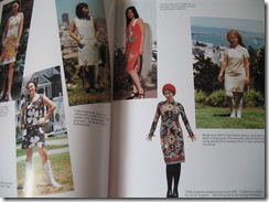 Vintage Fashion Book Pages