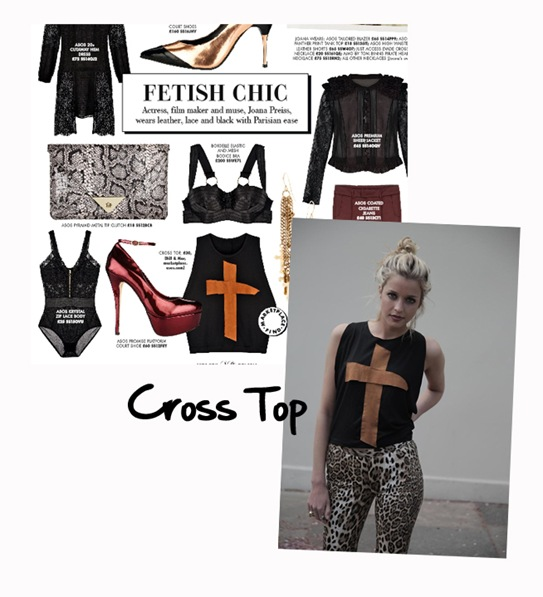 Cross Top from Bill + Mar