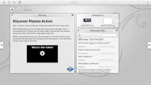 KDE Plama Active 3