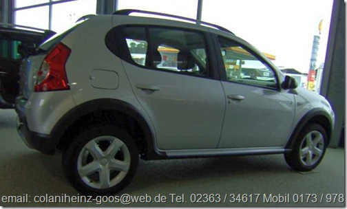 Folie Dacia Sandero Stepway 02