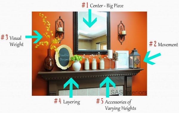 DIY Summer Mantel 1 1024x647 How To Decorate A Mantle