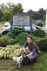 Ryan was going to Hardscrabble Farms in North Salem, NY and we, Frenchies, tagged along.  They are a 40-acre nursery and offer a large selection of evergreens, shade trees, fruit trees, flowering trees, shrubs, and many other great plants.