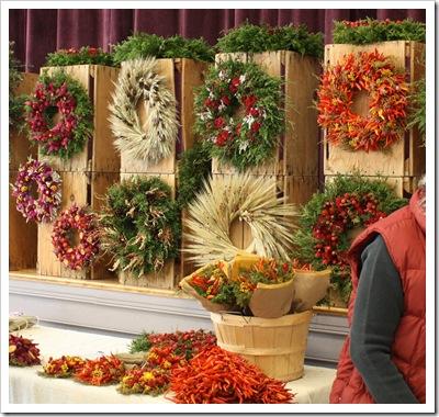 wreaths river garden