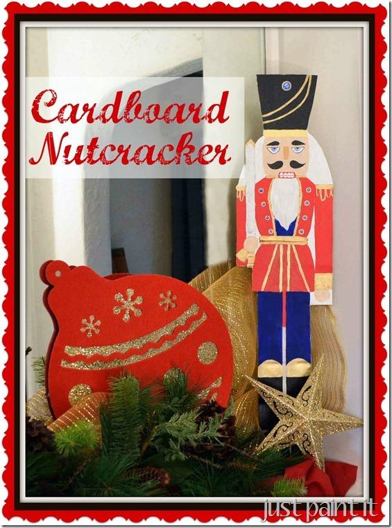 Cardboard Nutcracker