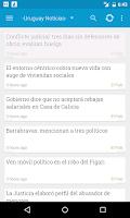 Screenshot of Uruguay Notícias