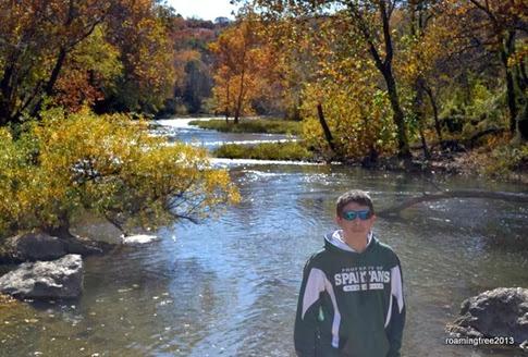 Bryce at Grand Falls