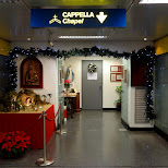 Chapel at the Airport - how interesting in Milan, Milano, Italy