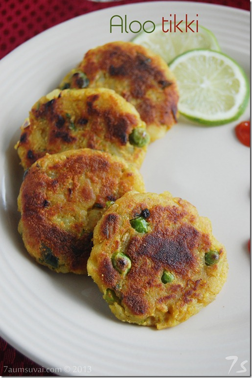 Aloo tikki / Potato patties