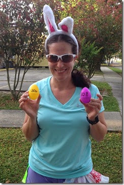 Running Group Easter Egg Hunt