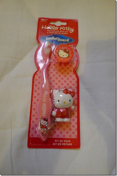 hello kitty toothbrush set