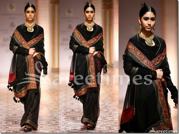 Azva_Black_Saree