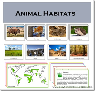 Animals and their Habitats (Part One) | The Pinay Homeschooler
