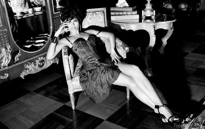 Freida Pinto Sexy 2012 Pics from Magazine 10