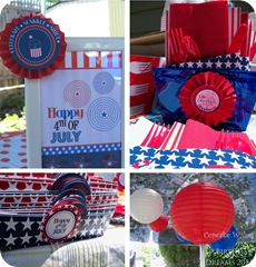 July 4th Recap decoration
