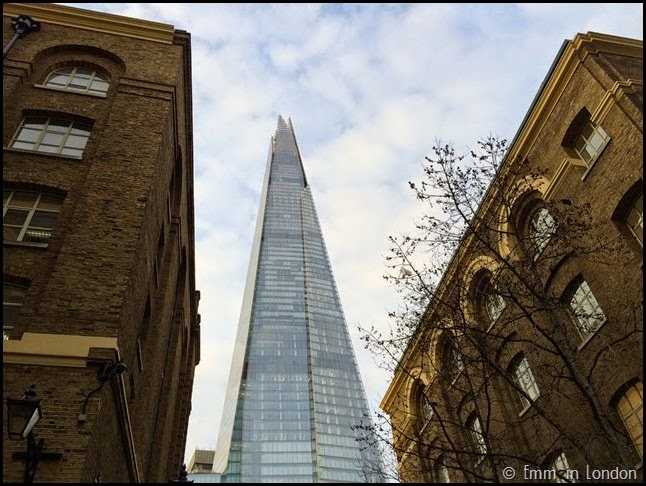 The Shard from Hay's Galleria