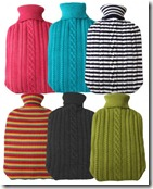 Cashmere Hot Water Bottle Covers - £50