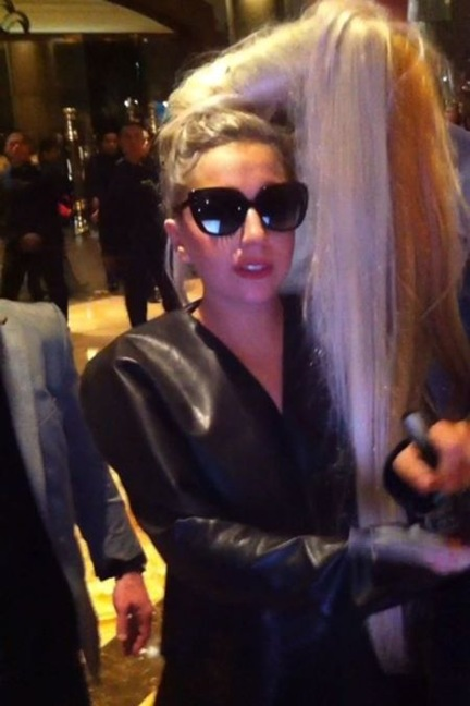 lady gaga in manila