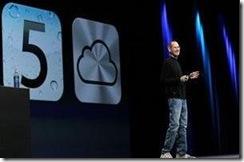 apple ios5 steve jobs