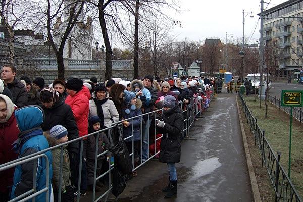 Пояс Богородицы, Москва