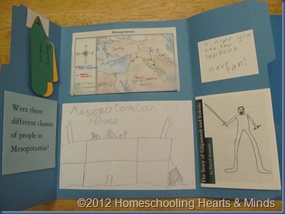 Mesopotamia lapbook 3