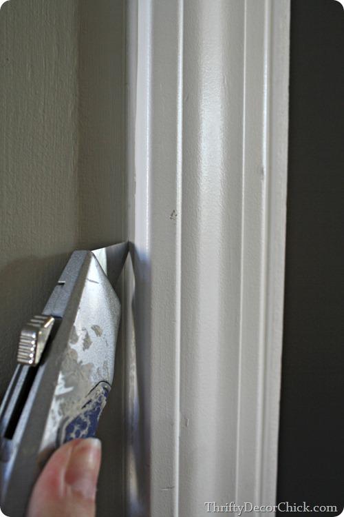 how to remove door trim
