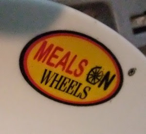 Meals on Wheels Saucer