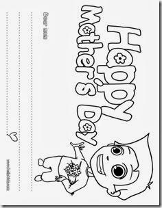 dibujos dia de la madre colorear ingles (3)