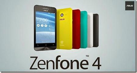 Harga Asus Zenfone 4 Terbaru Desember 2014