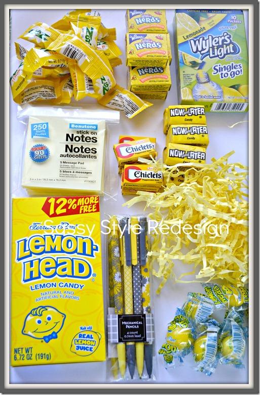 a pocket full of sunshine .. full supplies list