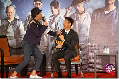 2014.11.27 Eddie Peng during Rise of the Legend - 彭于晏 黃飛鴻之英雄有夢 台北  10