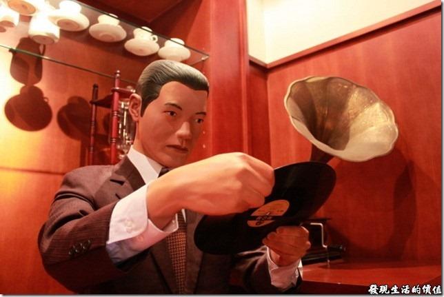 台南-國立台灣歷史博物館。咖啡廳與黑膠唱片興起