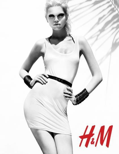 Daphne Groeneveld for H&M Season of Sun 2012 ad campaign3