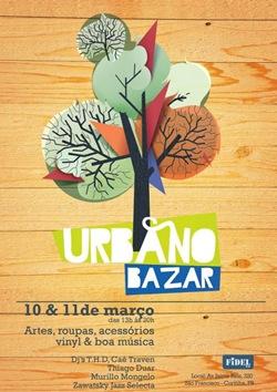 Urbano Bazar – Dias 10 e 11 de março.