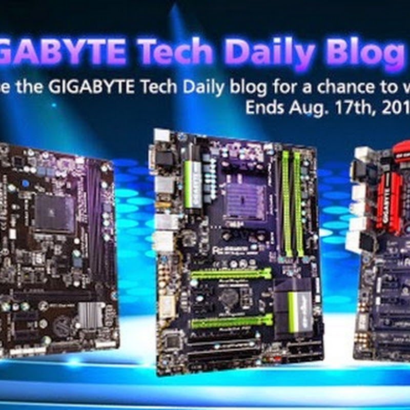 GIGABYTE Tech Daily Blog Frenzy Giveaway