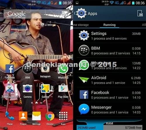 Davin Mboir - CusROM Galaxy A7 for Lenovo A536