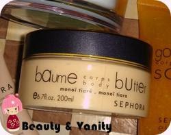 Sephora | Body Butter al monoi tiaré