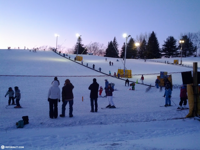 training hill at glen eden in Milton, Ontario, Canada