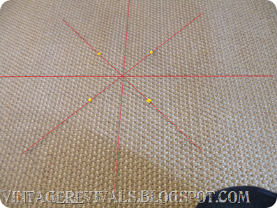 DIY Painted Sisal Rug 010 copy