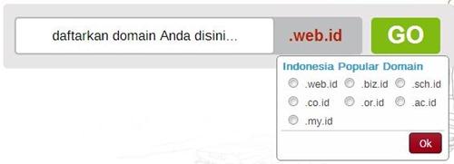 nama domain dot id yang bisa didaftarkan via registrar